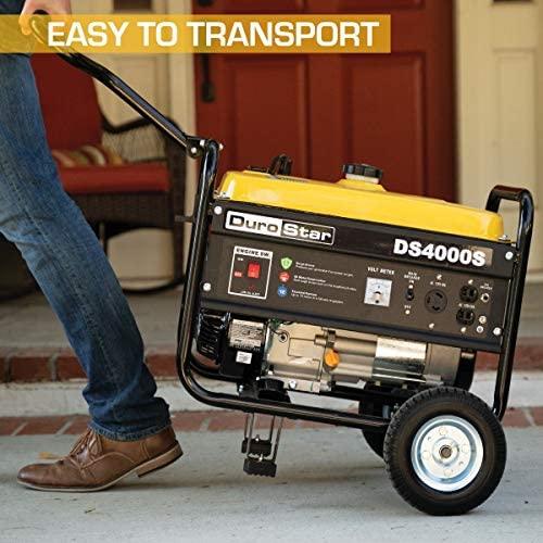 5115QM+38RL. AC  - DuroStar DS4000S 4000 Watt Portable Recoil Start Gas Fuel Generator