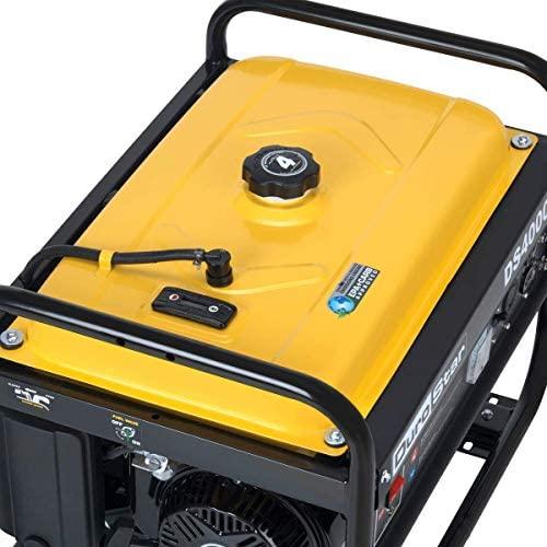 51V5SdEc9YL. AC  - DuroStar DS4000S 4000 Watt Portable Recoil Start Gas Fuel Generator