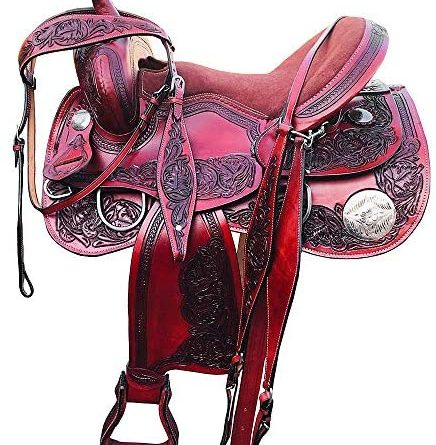 51vZKKPG4LL. AC  436x445 - Great American Western Horse Saddle Trail Pleasure Roper Ranch Leather