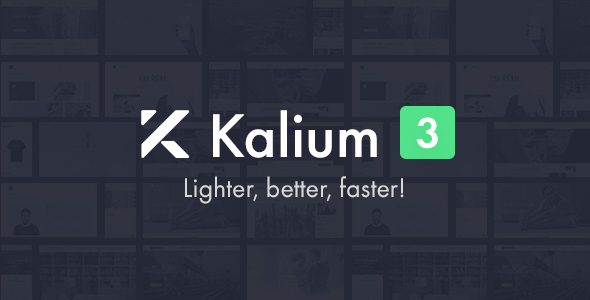 01 PREVIEW.  large preview - Kalium - Creative Theme for Professionals