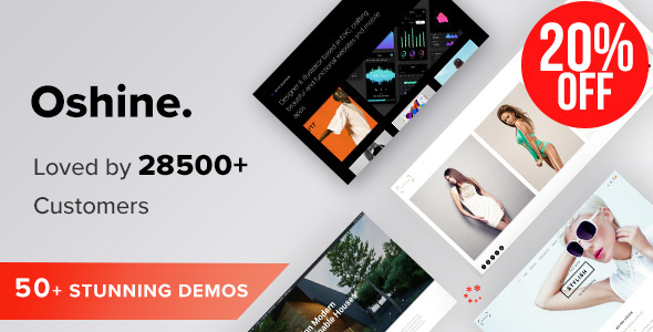 01 Preview.  large preview - Oshine - Multipurpose Creative WordPress Theme