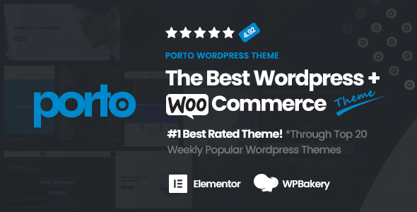 01 Themeforest Preview.  large preview - Porto | Multipurpose & WooCommerce Theme