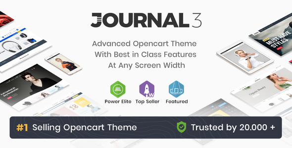 01 cover.  large preview - Journal - Advanced Opencart Theme