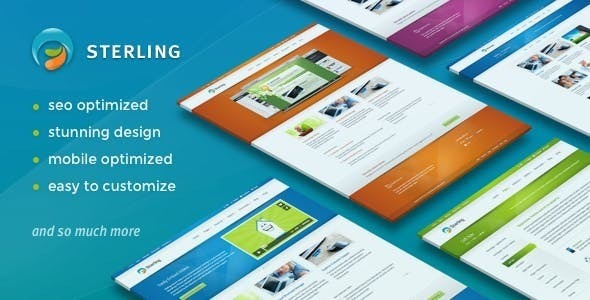 01 image preview.  large preview - Sterling - Responsive Wordpress