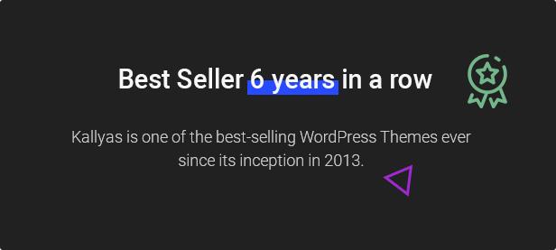 03.kallyas best seller - KALLYAS - Creative eCommerce Multi-Purpose WordPress Theme