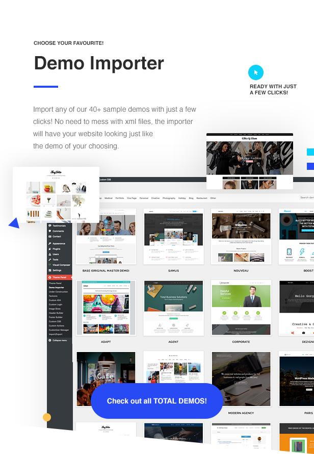 04 Total Importer - Total - Responsive Multi-Purpose WordPress Theme