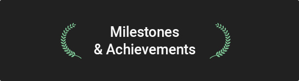 04.kallyas milestones achievements - KALLYAS - Creative eCommerce Multi-Purpose WordPress Theme