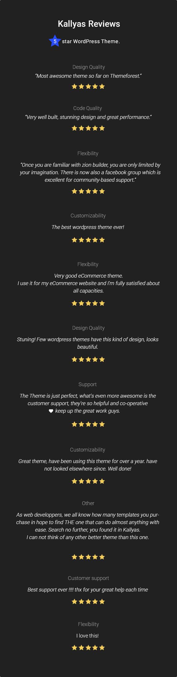 06.kallyas reviews - KALLYAS - Creative eCommerce Multi-Purpose WordPress Theme