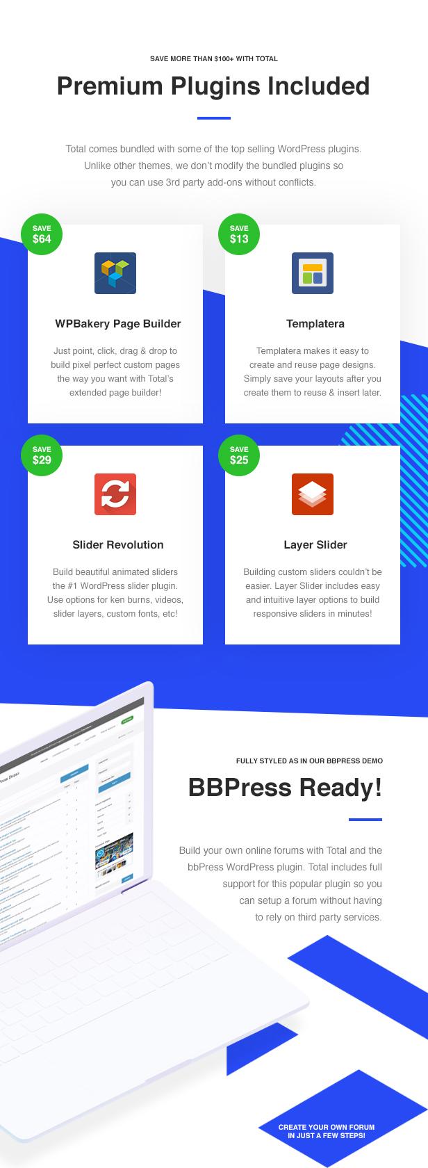 08 Total Premium Plugins - Total - Responsive Multi-Purpose WordPress Theme