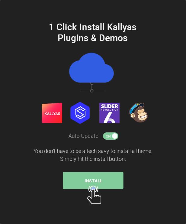 08.1 click install - KALLYAS - Creative eCommerce Multi-Purpose WordPress Theme