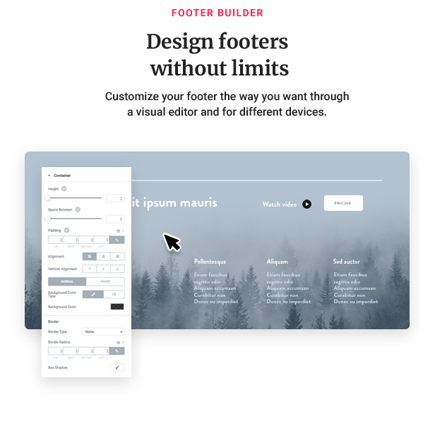 09 footer - Jupiter - Elementor Multi-Purpose Theme