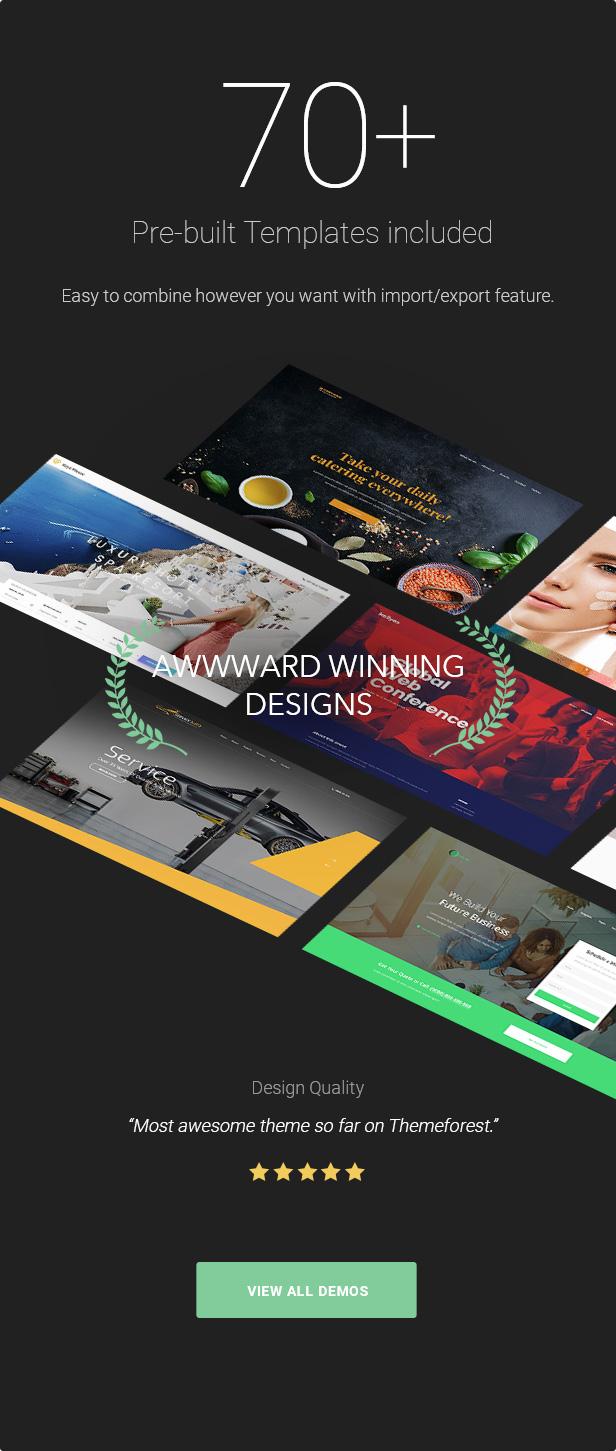 09.prebuilt templates 3 - KALLYAS - Creative eCommerce Multi-Purpose WordPress Theme