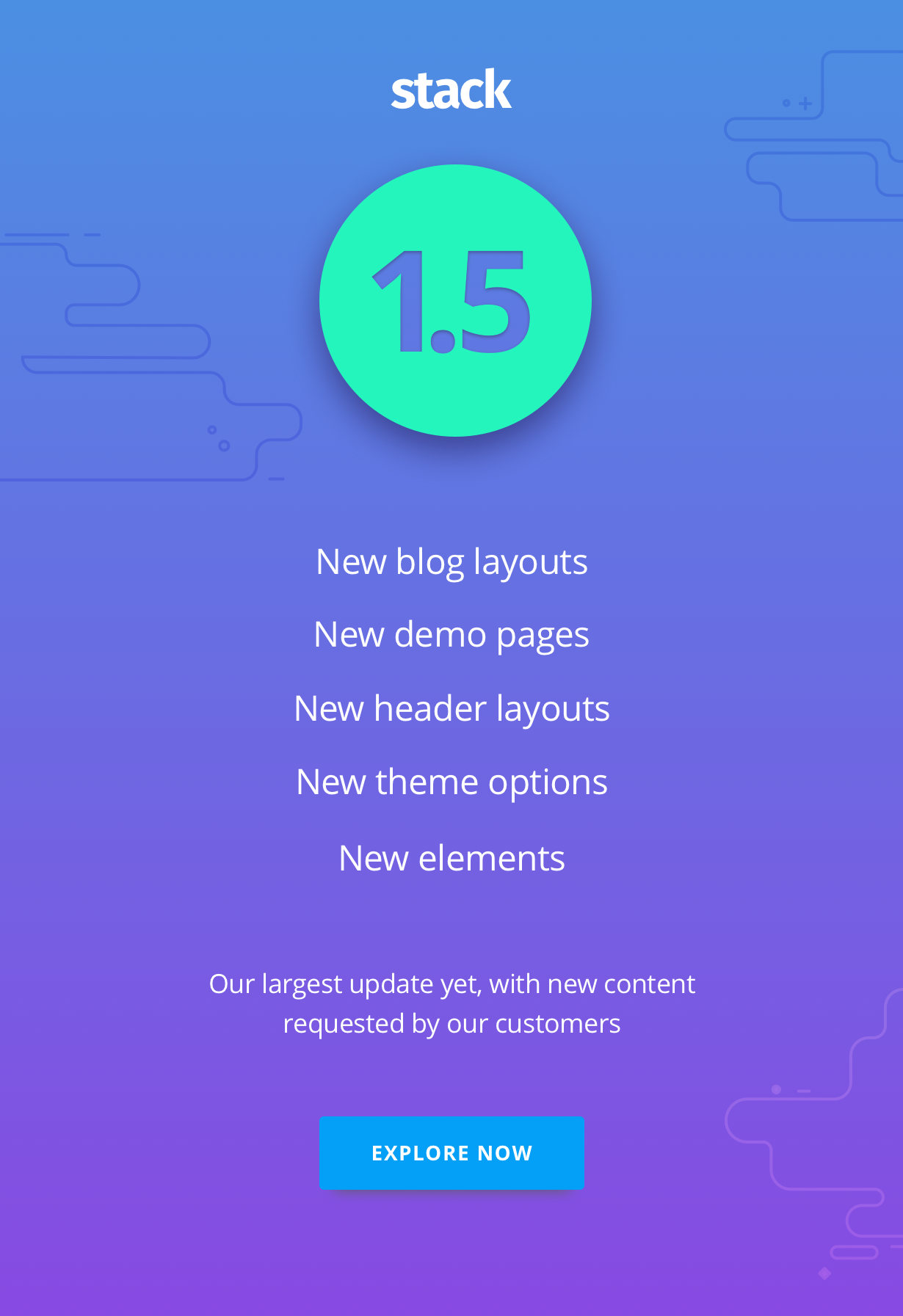 1 5 promo - Stack - Multi-Purpose WordPress Theme with Variant Page Builder & Visual Composer