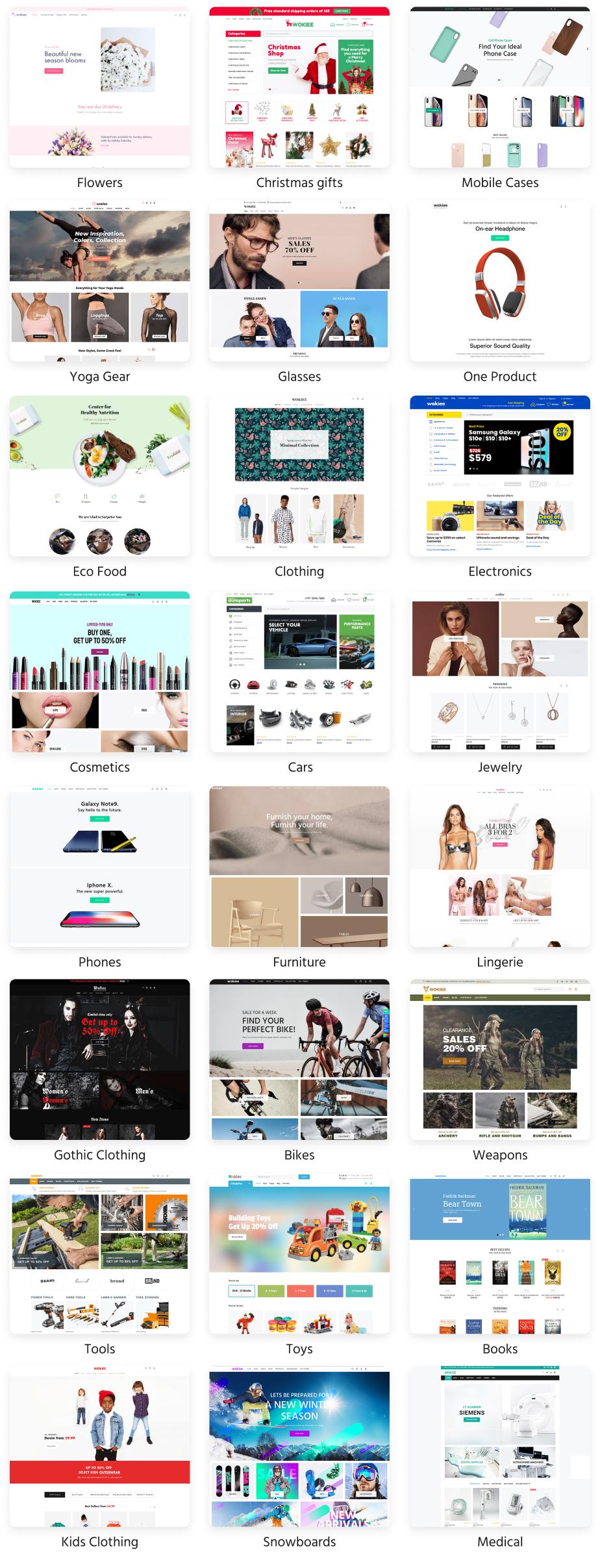 1006 - Wokiee - Multipurpose Shopify Theme