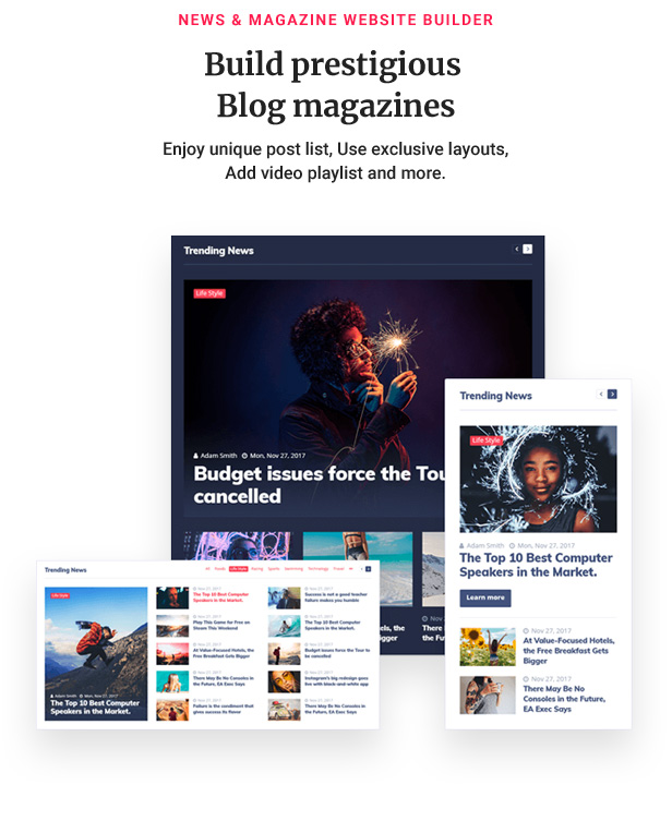 11 magazine - Jupiter - Elementor Multi-Purpose Theme