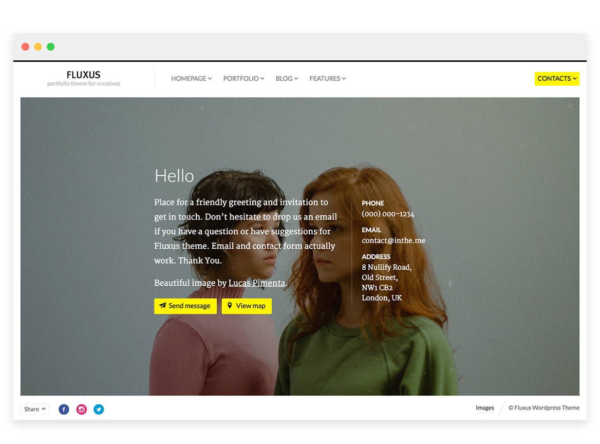 11 - Fluxus - Portfolio Theme for Photographers