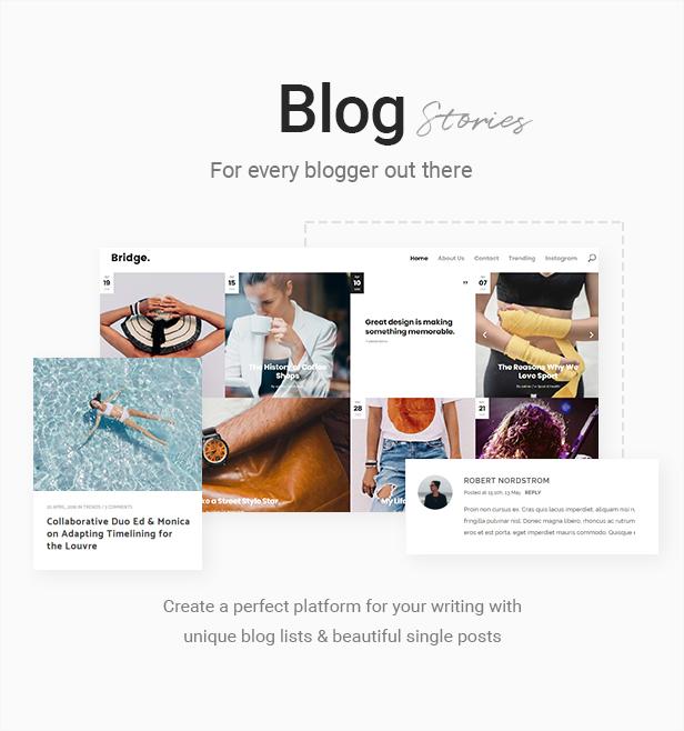 14 - Bridge - Creative Multipurpose WordPress Theme