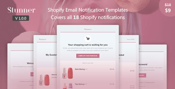 1594311294 397 01 preview.  large preview - Stunner - Shopify Email Notification Templates