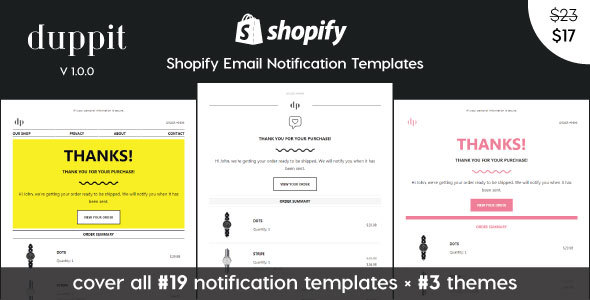 1594703719 888 01 preview.  large preview - duppit - Notification Email Templates for Shopify Themes