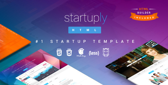 1595226629 709 01 preview.  large preview - Startuply — Responsive Multi-Purpose Landing Page
