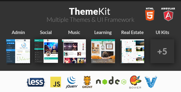 1595574602 47 preview.  large preview - ThemeKit - Bootstrap Admin Theme Kit
