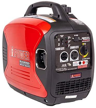 1595595260 41n7VzLEd4L. AC  - A-iPower SUA2000iV 2000 Watt Portable Inverter Generator Quiet Operation, RV Ready