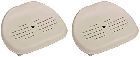 1595638847 31Y4a0Vv9UL. AC  - Intex Removable Slip-Resistant Seat For Inflatable Pure Spa Hot Tub (2 Pack)