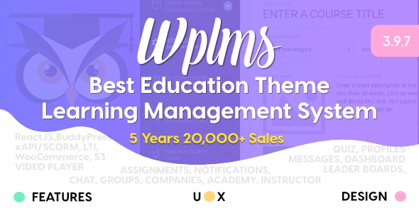 1595749028 771 01 preview1.  large preview - WPLMS Learning Management System for WordPress, Education Theme