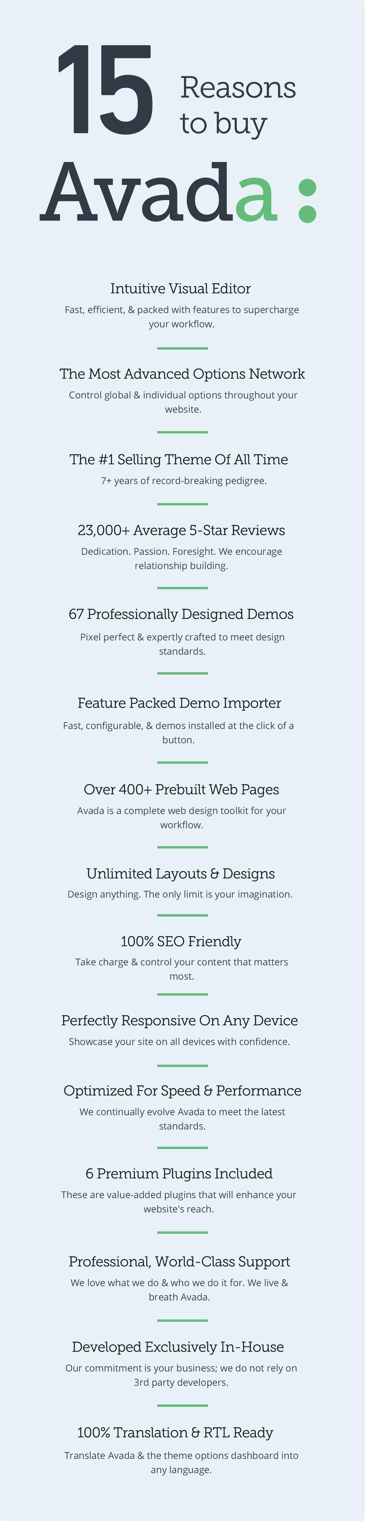 15reasons itempage 67demos - Avada   Website Builder For WordPress & WooCommerce