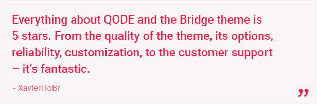 17 a - Bridge - Creative Multipurpose WordPress Theme