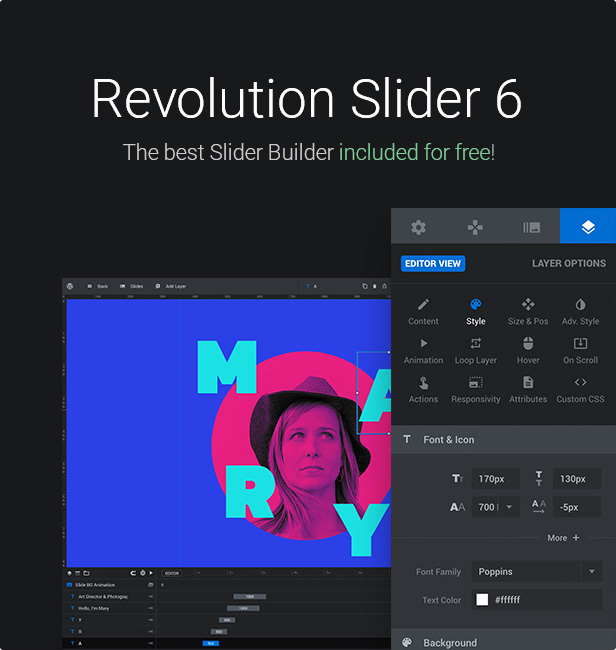 20.revolution slider - KALLYAS - Creative eCommerce Multi-Purpose WordPress Theme