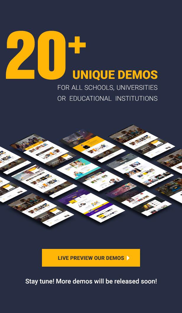 20demos - Education WordPress Theme | Eduma