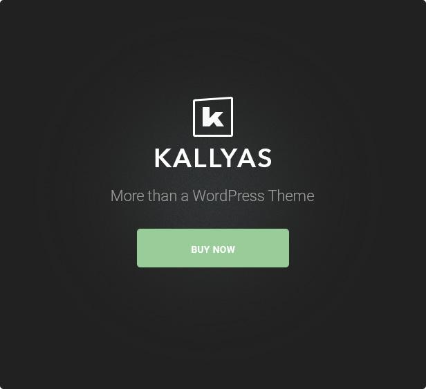 21.more than a theme - KALLYAS - Creative eCommerce Multi-Purpose WordPress Theme