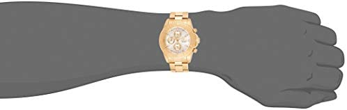 21QGEAFBkYL. AC  - Invicta Men's 1774  Pro-Diver Collection 18k Gold Ion-Plated Stainless Steel Watch
