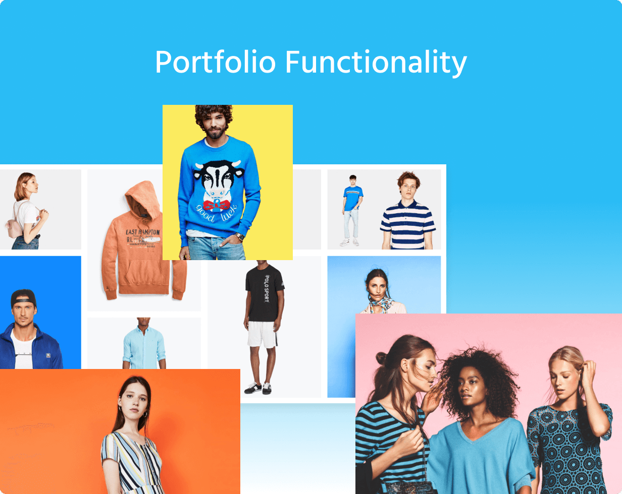 27 portfolio - Wokiee - Multipurpose Shopify Theme