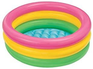 31UbVyllcrL. AC  - Intex Sunset Glow Baby Pool (34 in x 10 in)