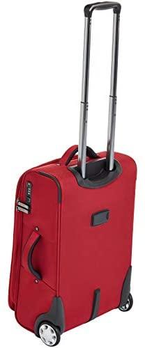 31eDa5664tL. AC  - AmazonBasics Upright Spinner Expandable Softside Suitcase Luggage with TSA Lock and Wheels