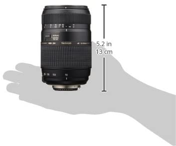 31lAS66L0HL. AC  - Tamron Auto Focus 70-300mm f/4.0-5.6 Di LD Macro Zoom Lens with Built In Motor for Nikon Digital SLR (Model A17NII)