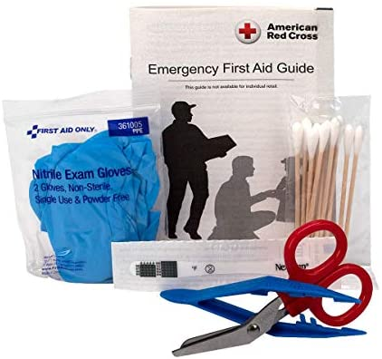41+t2Ra1ukL. AC  - First Aid Only 299 Piece All-Purpose First Aid Kit (FAO-442)