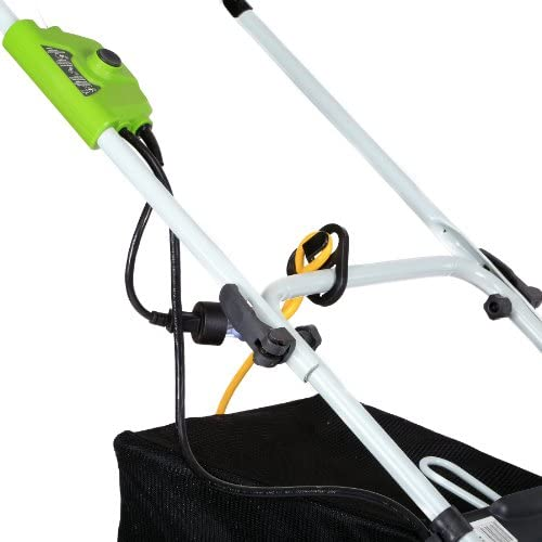41IqZFRndaL. AC  - Greenworks 16-Inch 10 Amp Corded Electric Lawn Mower 25142