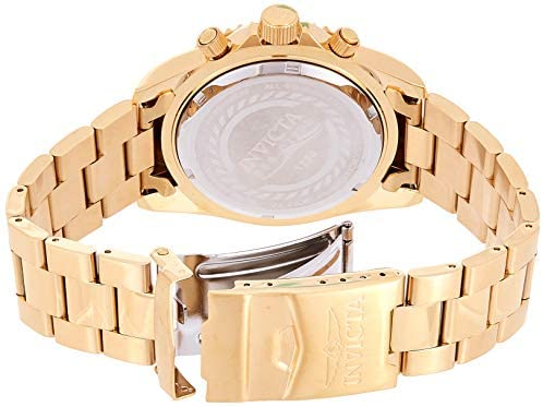 41Ith7BtpBL. AC  - Invicta Men's 1774  Pro-Diver Collection 18k Gold Ion-Plated Stainless Steel Watch