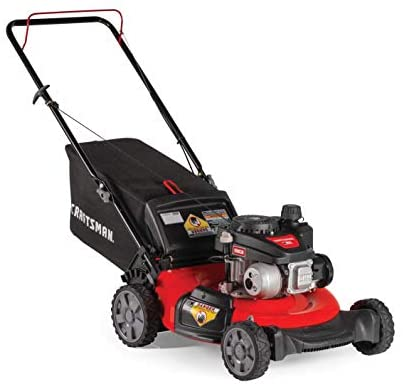 41NLhjGwnFL. AC  - CRAFTSMAN M105 140cc 21-Inch 3-in-1 Gas Powered Push Lawn Mower with Bagger
