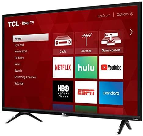 41UJgOG+6EL. AC  - TCL 32S325 32 Inch 720p Roku Smart LED TV (2019)