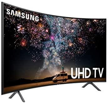 41Z4avhjSYL. AC  - Samsung UN55RU7300FXZA Curved 55-Inch 4K UHD 7 Series Ultra HD Smart TV with HDR and Alexa Compatibility (2019 Model)