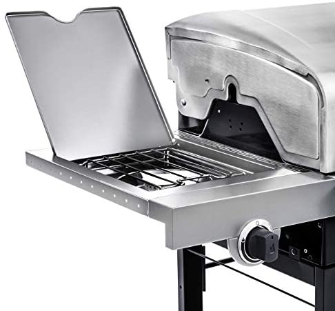41ZQQo 7kyL. AC  - Char-Broil 463377319 Performance 4-Burner Cart Style Liquid Propane Gas Grill, Stainless Steel