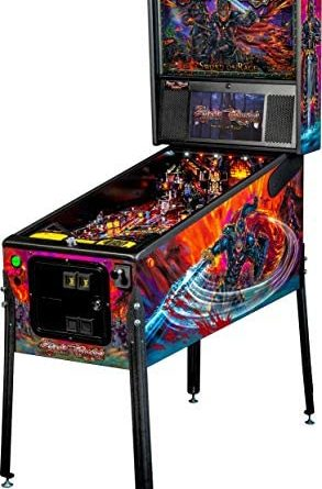 41barA5K8WL. AC  293x445 - Stern Pinball Black Knight: Sword of Rage Arcade Pinbal Machine, Premium Edition