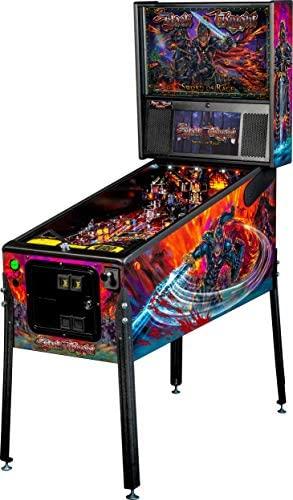 41barA5K8WL. AC  - Stern Pinball Black Knight: Sword of Rage Arcade Pinbal Machine, Premium Edition