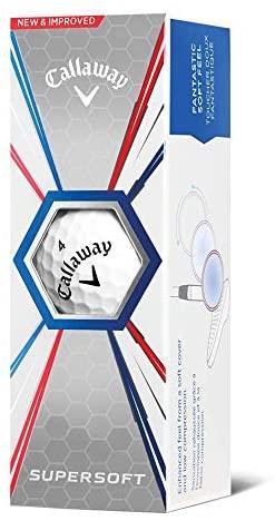 41enyNBYXsL. AC  - Callaway Golf Supersoft Golf Balls