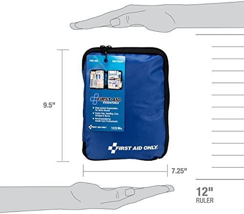 41qORkczu6L. AC  - First Aid Only 299 Piece All-Purpose First Aid Kit (FAO-442)