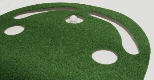 41un2JCrdAL. AC  - Putt-A-Bout Grassroots Par Three Putting Green (9-feet x 3-feet)